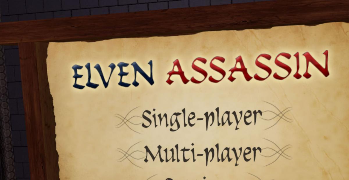 Elven Assassin 1